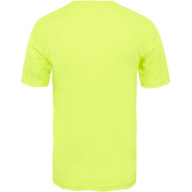 The North Face M's Flex S/S Shirt Dayglo Yellow